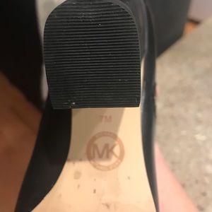 MK black boots. Sz 7. Worm 1x